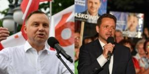 Trzaskowski wygrywa w miastach, wieś dla Dudy