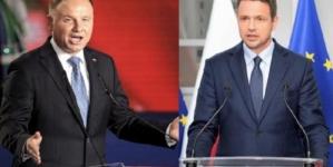 Sondaże: Według TVN wygrywa Trzaskowski w Gazecie Polskiej Duda