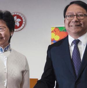 Nowy szef komitetu bezpieczeństwa państwowego Hongkongu