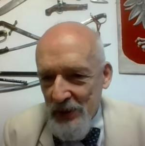 """Janusz Korwin-Mikke ujawnia skandal: """"Są siły w PiS chcące przegranej Andrzeja Dudy"""" [WIDEO]"""