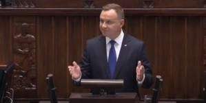 """Andrzej Duda zaprzysiężony na drugą kadencje. """"Władza pochodzi z woli narodu"""""""