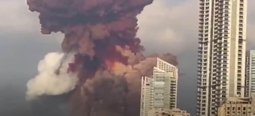 Potężna eksplozja w Bejrucie. Zamach czy katastrofa?