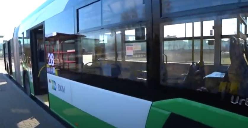 Agresywne zachowanie wobec pasażera bez maseczki! [WIDEO]