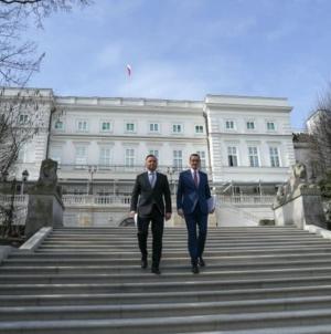 Uroczystość zaprzysiężenia nowego rządu. Prezydent Duda przekazał urzędy państwowe nowym ministrom
