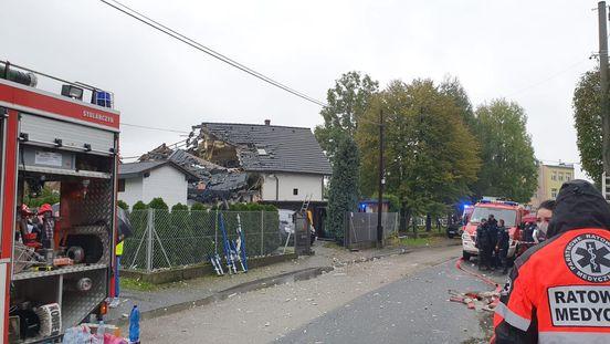 Wybuch gazu w mieszkaniu jednorodzinnym. Nie żyje jedna kobieta