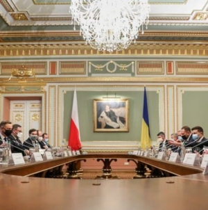 Wizyta Prezydenta na Ukrainie. Duda i Zełenski podpisują wspólną deklarację