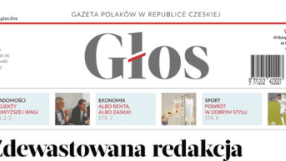 Dewastacja polskiej redakcji na Zaolziu. Sprawę bada czeska policja