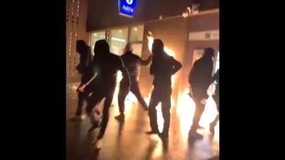 Zamieszki Black Lives Matter w sercu Brukseli. 112 aresztowanych wichrzycieli, 20 rannych policjantów