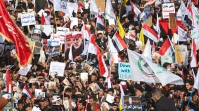Irak: Tysiące osób uczciły pamięć irańskiego generała zabitego przez USA