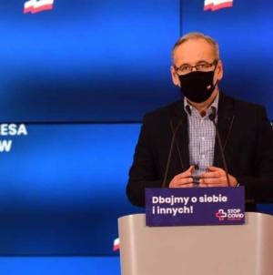"""Minister Niedzielski znów straszy: """"Czekamy na efekt Świąt i Sylwestra"""""""