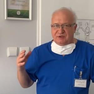 Prof. Simon otrzyma medal za zasługi w walce z koronawirusem