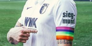 Piłkarze Augsburga rocznicę wyzwolenia Auschwitz uczczą kolorami LGBT