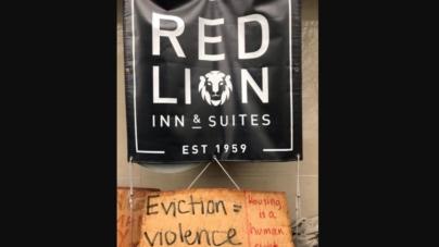 USA: Antifa zajęła hotel na Kapitolu w stanie Waszyngton
