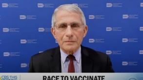 """Dr Fauci prognozuje: """"W 2022 będziemy mogli zaszczepić dzieci w każdym wieku"""" [WIDEO]"""