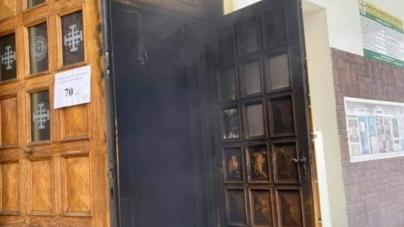 Podpalenie kościoła w Lublinie. Poszukiwana podejrzana kobieta. Zabezpieczono nagrania