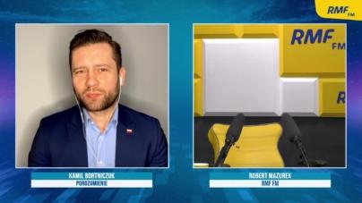 RMF: Mazurek nie mógł dojść do głosu. Wyszedł ze studia