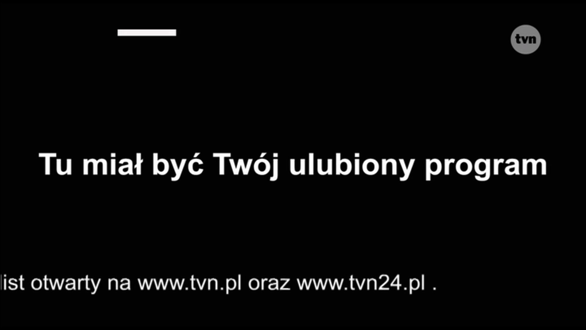 Plansza TVN.