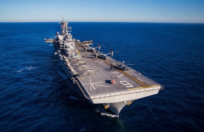 Amerykańskie lotniskowce prowadzą manewry na Morzu Południowochińskim