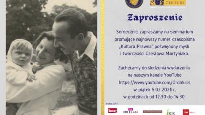 Instytut Ordo Iuris przypomni postać Czesława Martyniaka