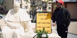 Bart Staszewski skarżył się na los LGBT w Polsce… arabskiej telewizji