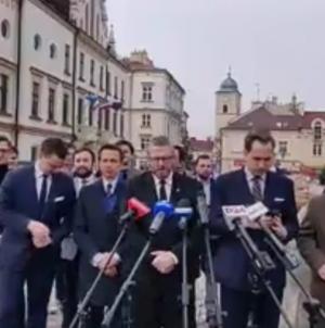 """Konfederacja ma kandydata na prezydenta Rzeszowa. """"Liczymy na poszerzenie poparcia"""""""