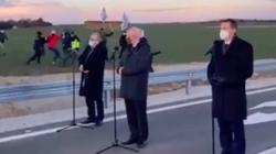 Premier uciekł przed rolnikami. Chcieli zadać pytanie