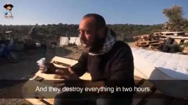 """Grecki pasterz płacze nad stratami. """"Imigranci zniszczyli dzieło mojego życia"""""""