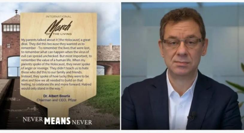 Dzień Pamięci o Holokauście. Szef Pfizera i dr Fauci wezmą udział w obchodach