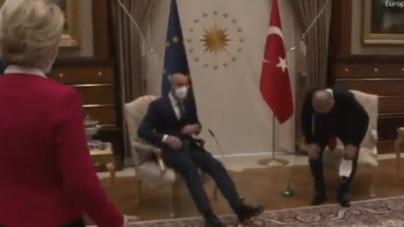 Żenująca wpadka unijnej dyplomacji! Zagubiona szefowa KE