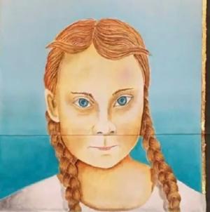 Szwedzki kościół oszalał! Greta Thunberg świętą