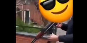 Tymczasem w Belgii. Czeczeni z AK-47 walczą z Kurdami na ulicach [WIDEO]