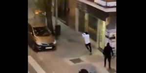 """""""Dziki Zachód"""" w Madrycie. Gangi walczyły w centrum miasta [WIDEO]"""