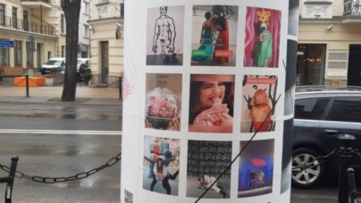 Kobieta jedząca abortowane dziecko. Tak promuje się lubelska galeria