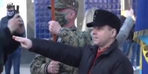 Ukraina: Neonaziści maszerowali ku czi SS Galizien [WIDEO]