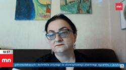 Dr Cywińska o gorszącym plakacie w Lublinie: To jest pewien piktogram ideologiczny, a nie dzieło sztuki [WIDEO]