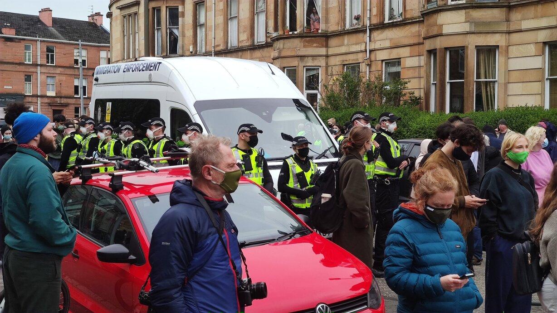 Szkoci wypuścili handlarzy imigrantów