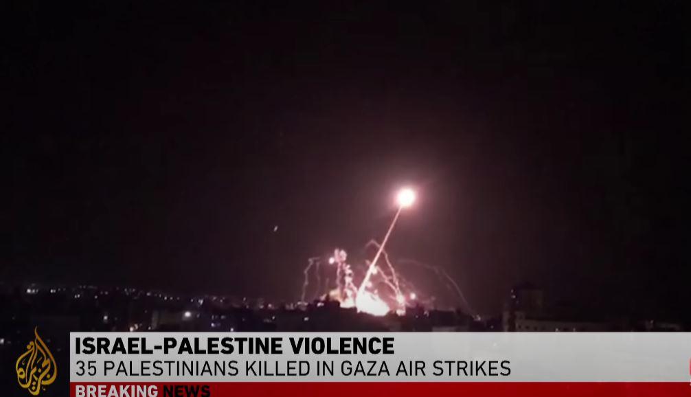 Strefa Gazy, Izrael