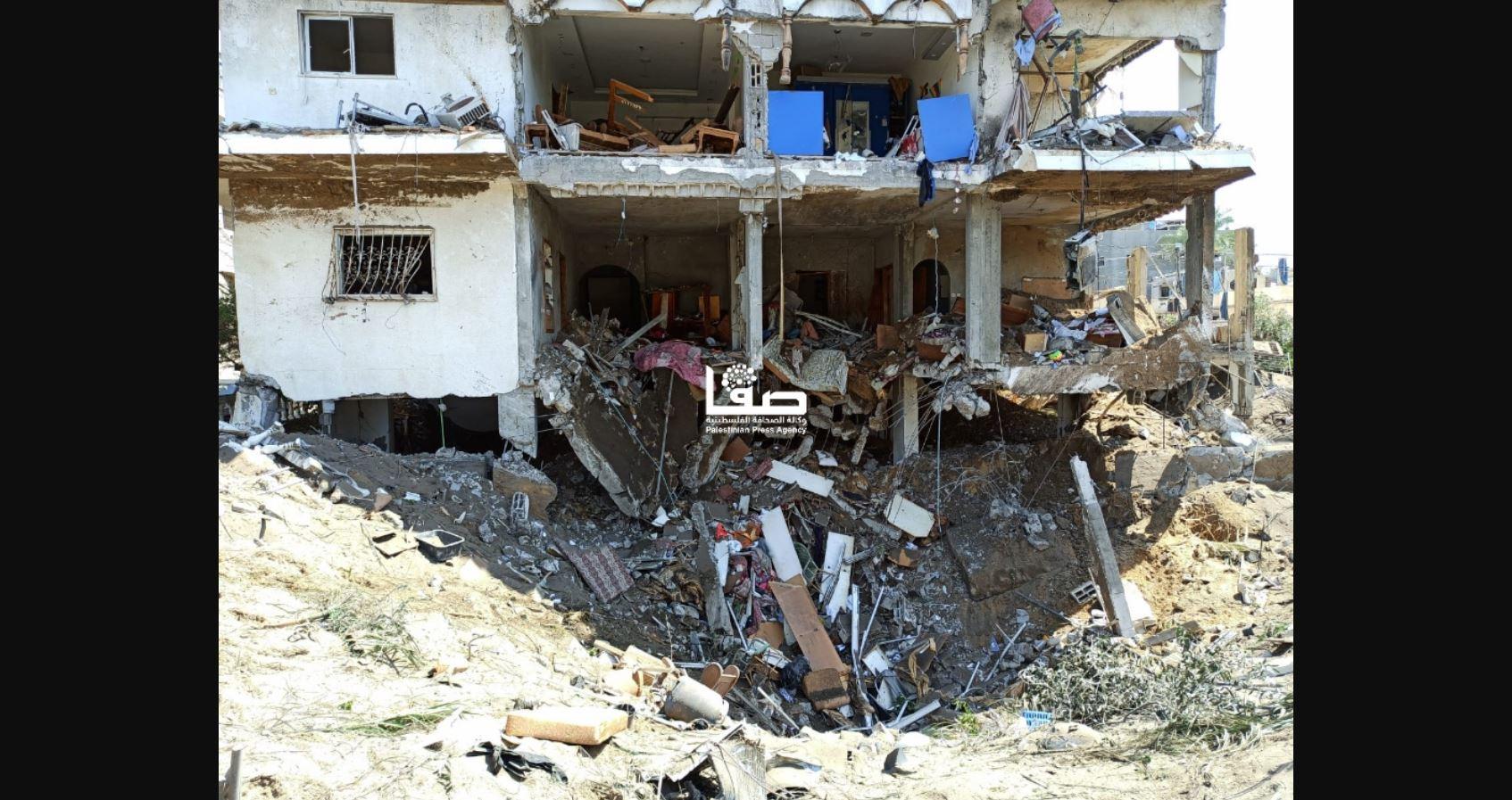 Palestyna, ostrzał izraelski