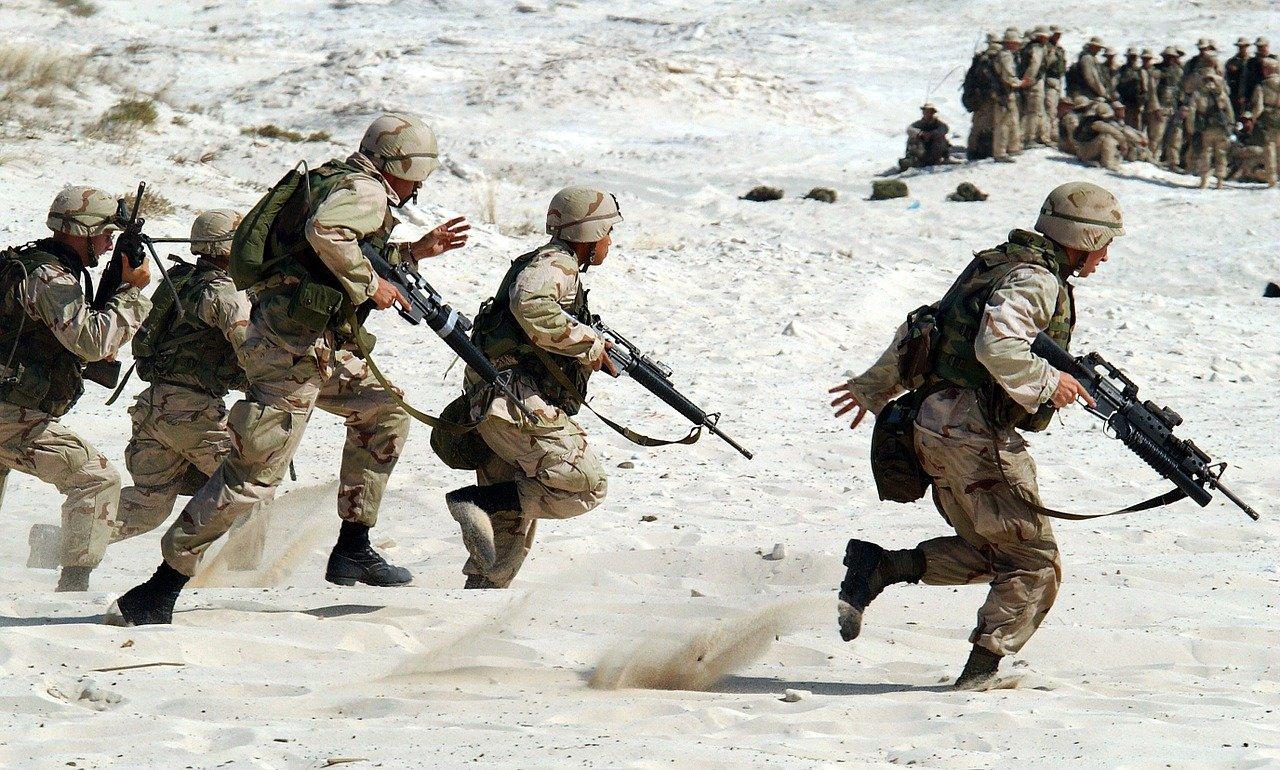 Żołnierze armii USA