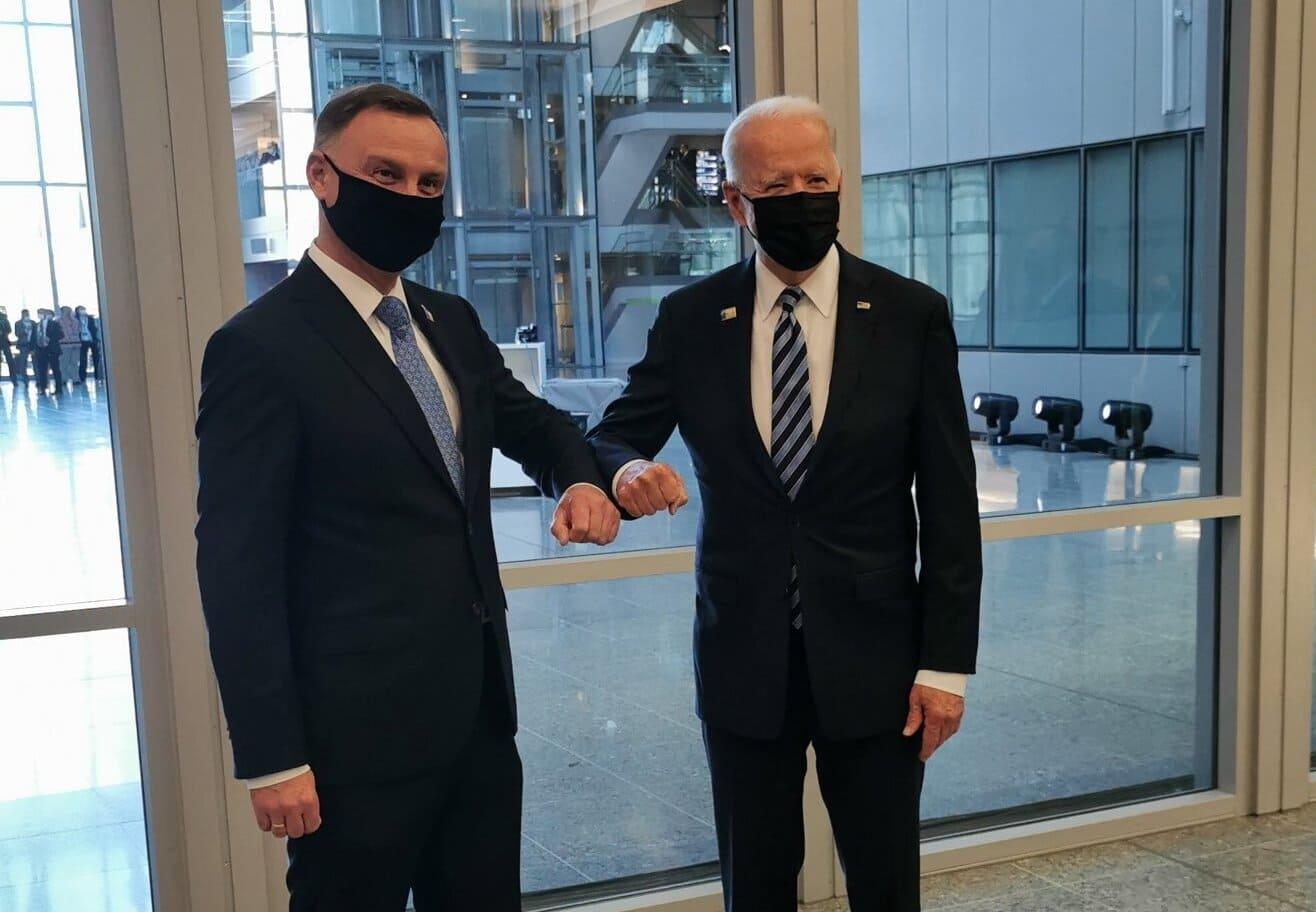 Prezydent Andrzej Duda spotkał się z Joe Bidenem