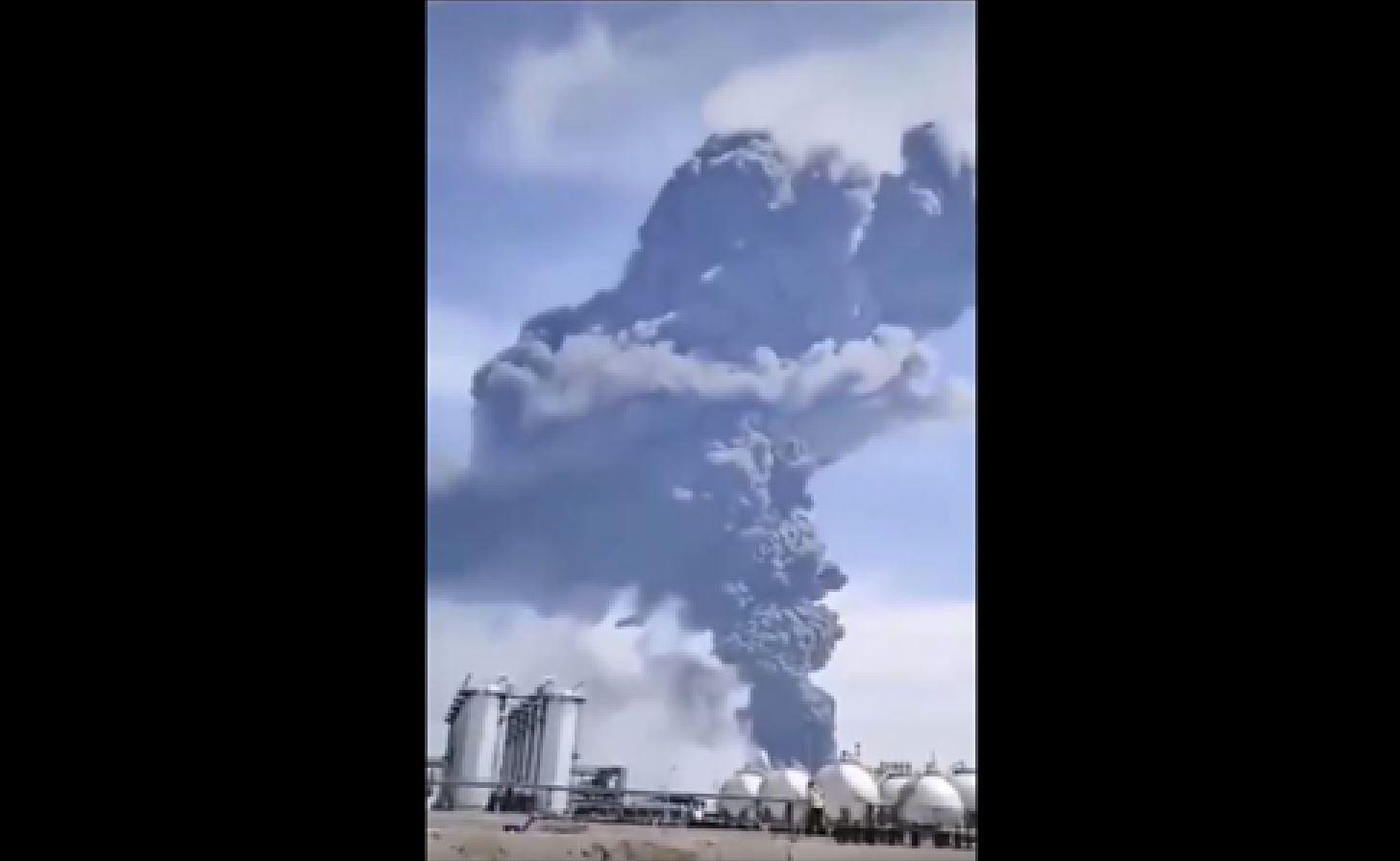 Chiny, pożar fabryki