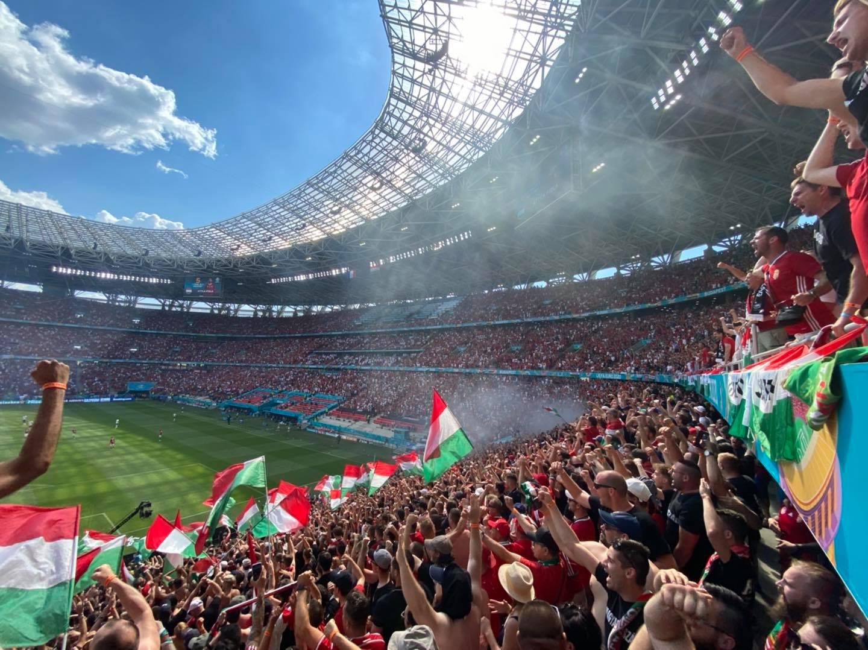 """Węgierski """"młyn"""" na meczu z Francją"""