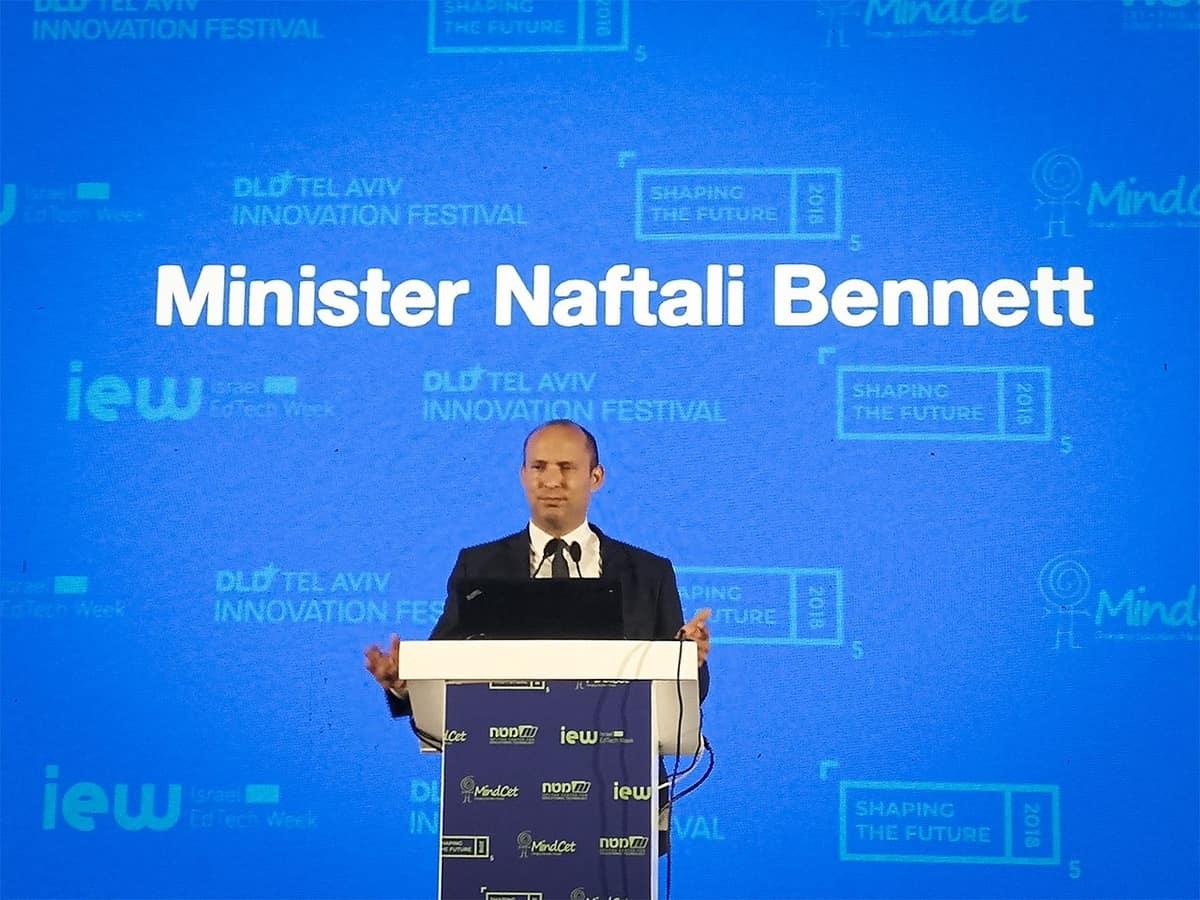 Naftali Bennett.