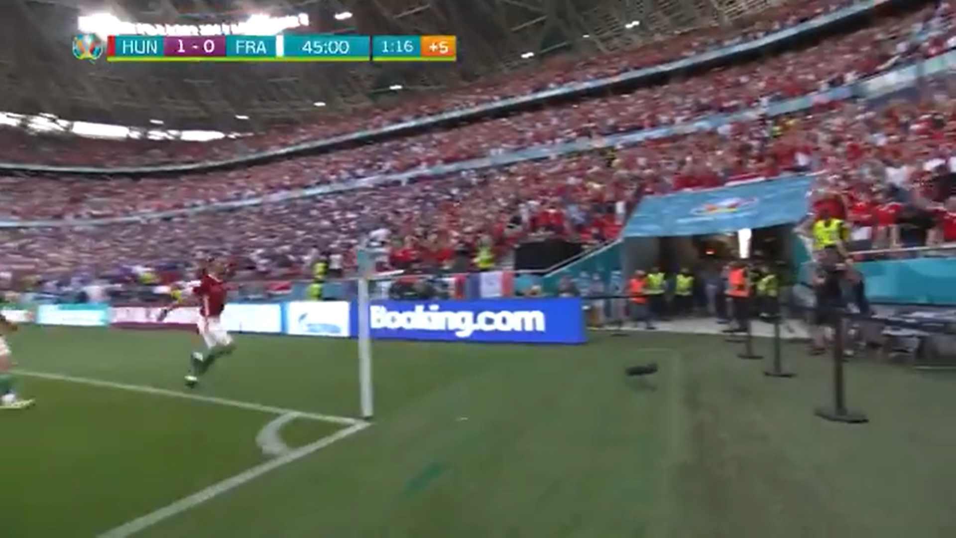 Węgry - Francja podczas Euro 2020.