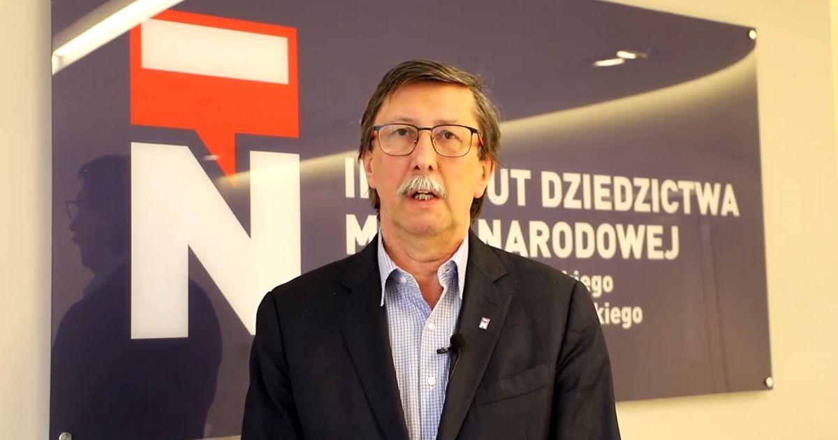Prof. Jan Żaryn, dyrektor IDMN.