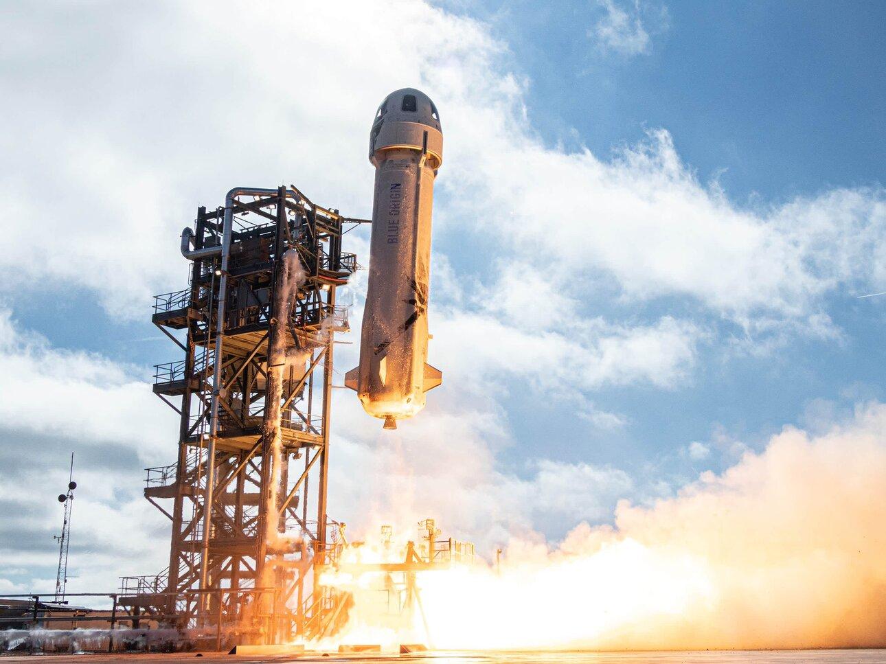 Start rakiety New Shephard