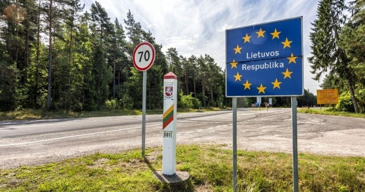 Granica litewska.