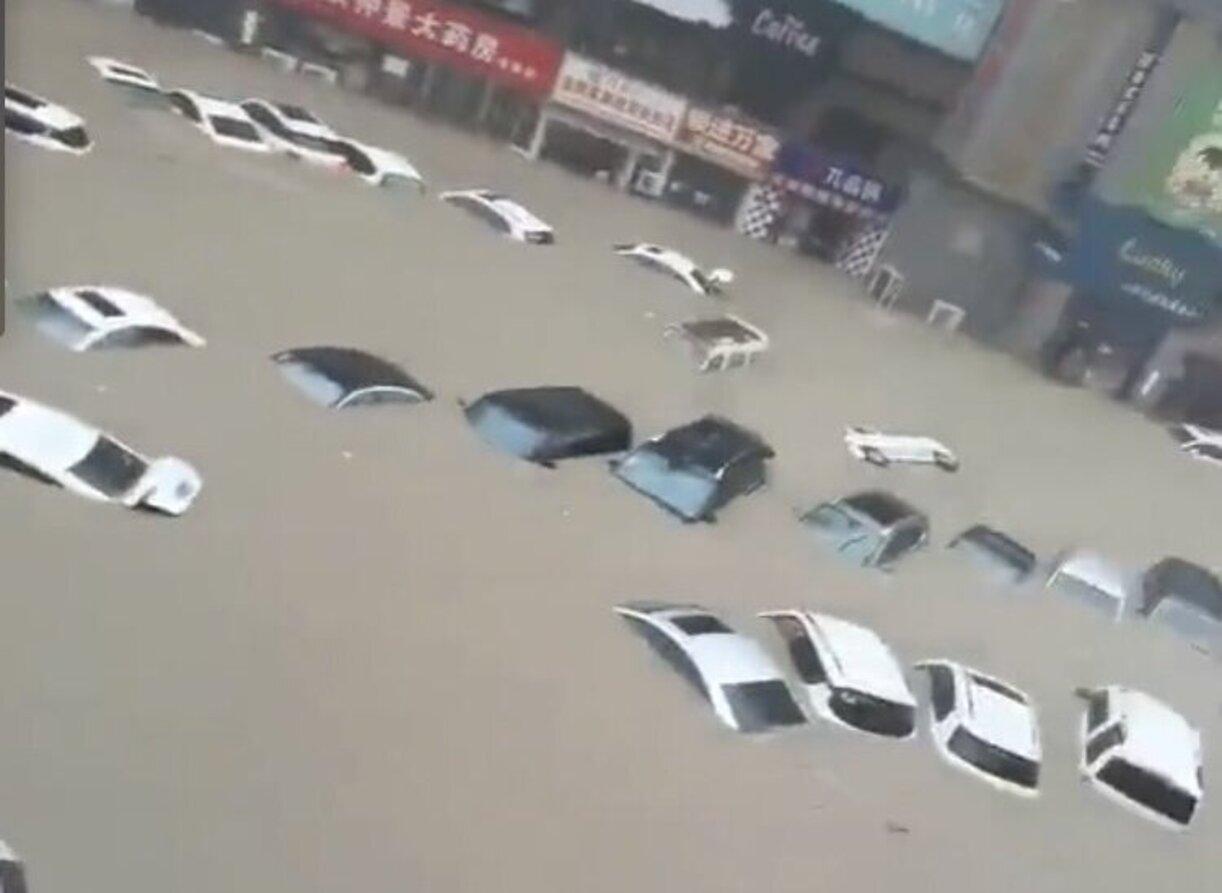 Ogromna powódź w Chinach