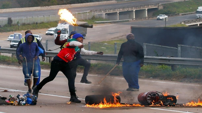 Zamieszki w RPA po skazaniu byłego prezydenta