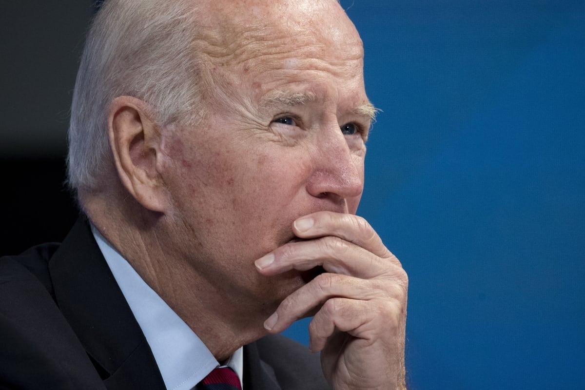 Skupiony Joe Biden